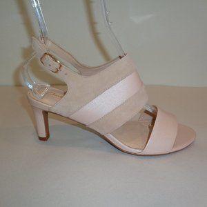 Clarks LAURETI JOY Cream Suede New Heeled Sandals